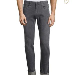 JBRAND Tyler Slim Fit Jeans Gray